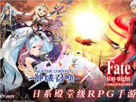 "盛大代理又一日系""殿堂级""RPG手游 还将与Fate/stay night联动"